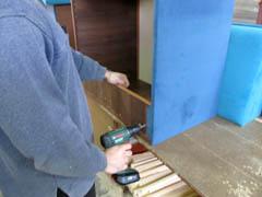 Изготовление мягкой мебели под заказчика