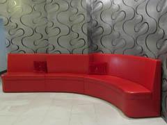 Нестандартные диваны для СПА-салона на заказ