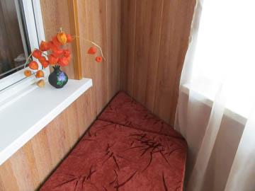 Изготовление кушетки для балкона