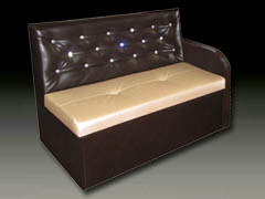 Мягкая мебель со стразами на заказ
