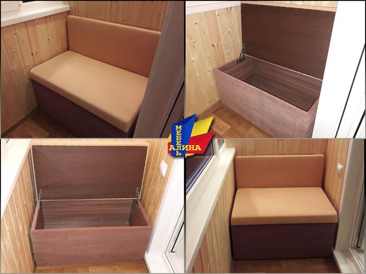 Изготовление диванов для балкона