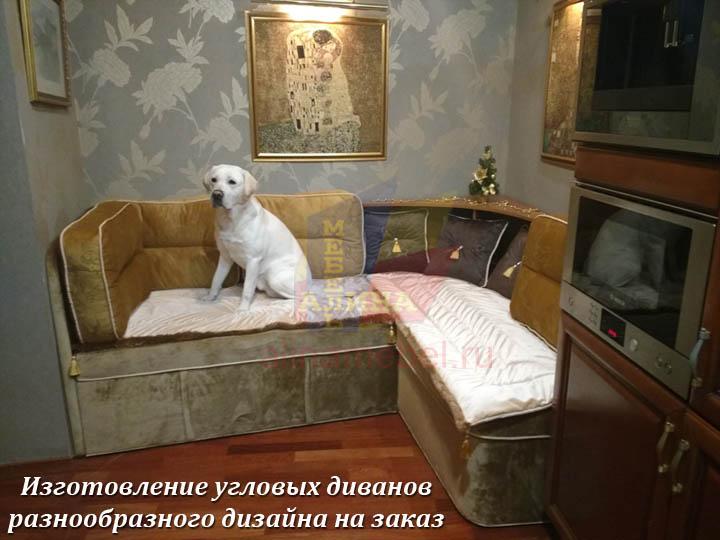 Угловые диваны для нестандартной гостиной
