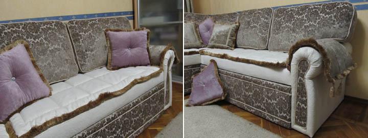 Изготовление мягких угловых диванов для гостиной