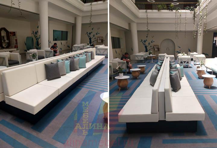 Мягкая мебель для гостиниц и отелей на заказ