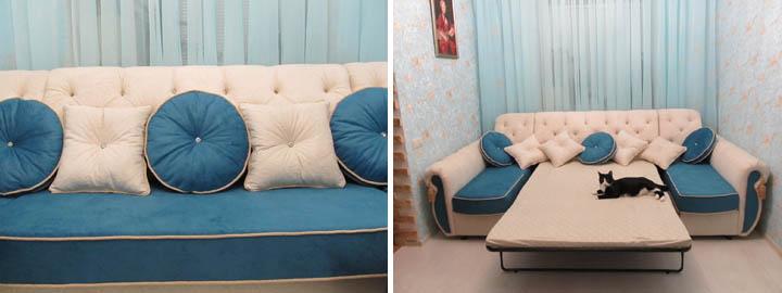 Классические диваны со спальным местом