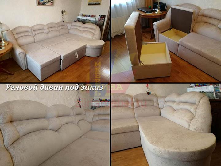 Производство диванов в гостиную на заказ