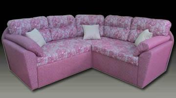 Радиусный диван по индивидуальному проекту