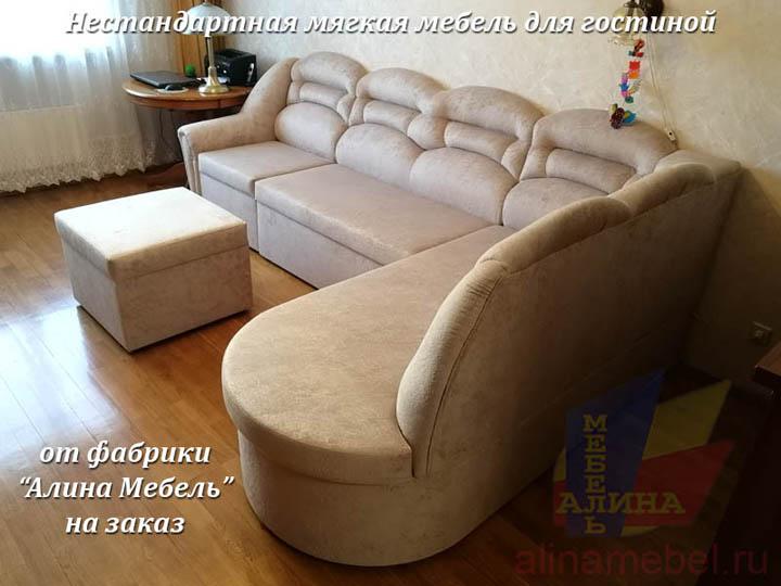 Проект углового дивана под заказ