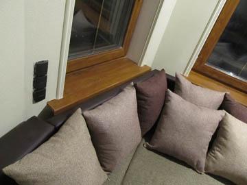 Эркерные диваны для гостиной