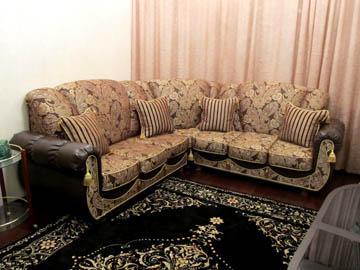 Эркерный диван в гостиную на заказ