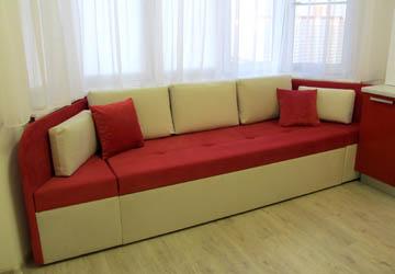 Мягкая мебель на заказ - диваны для эркера - изготовление не.