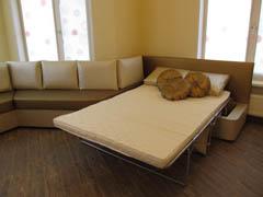Эркерные диваны для гостиной со спальным местом