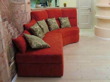 Эркерный диван для холла на заказ
