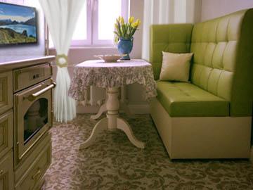Нестандартные диваны для кухни на заказ