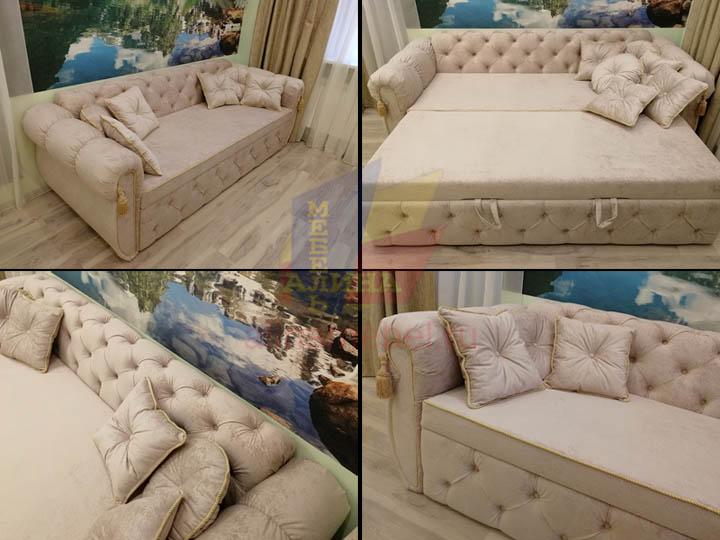 Производство диванов для гостиной на заказ