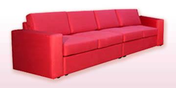 Модульные диваны для холла