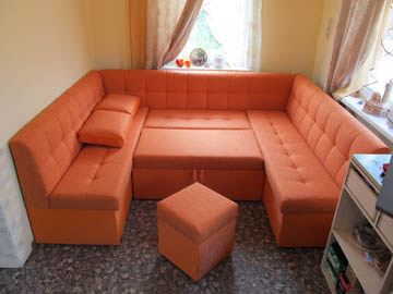 П-образные диваны со спальным местом