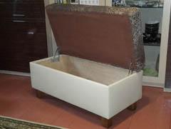 Пуфы с ящиком на заказ