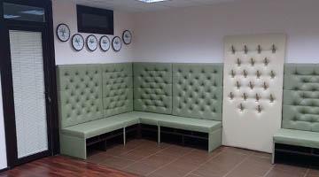 Индивидуальные диваны для холла