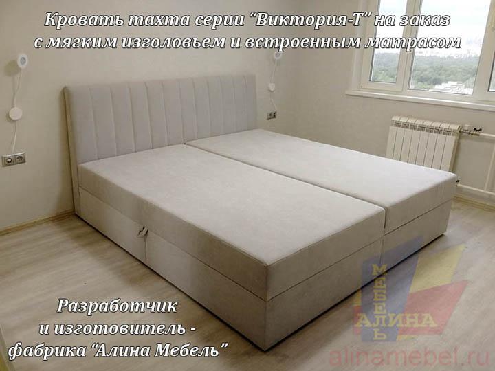 Кровать тахта с матрасом на заказ