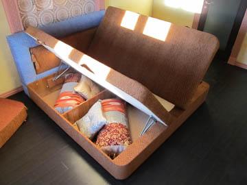 Изготовление тахты с ящиками