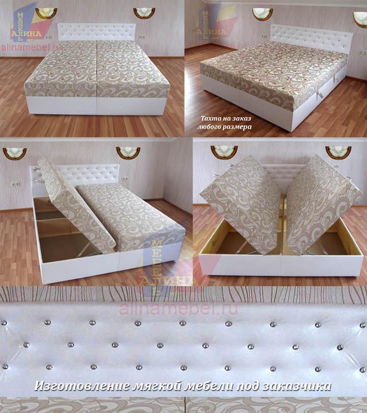 Кровать для спальни на заказ