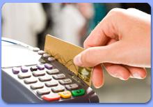 Оплата мебели банковской картой